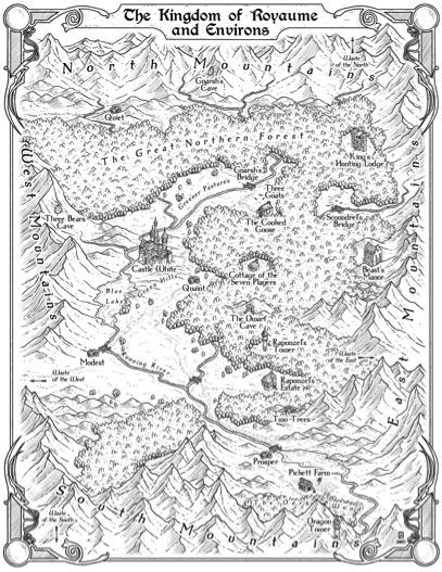 Map Royaume: Harper-Collins 2015